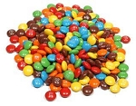 M&M Mini Milk Chocolate Baking Bits