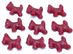 Gimbal Brothers Red Licorice Scottie Dogs
