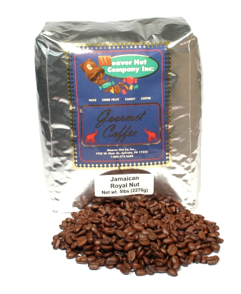 Weaver Nut Jamaican Royal Nut Whole Bean Coffee