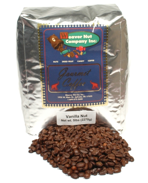 Weaver Nut Vanilla Royal Nut Whole Bean Coffee