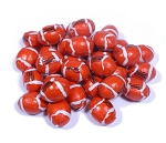 Madelaine Pure Chocolate Foil Wrapped Footballs