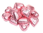 Madelaine Chocolate Pink Miniature Hearts