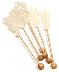 Dryden And Palmer White Rock Candy Swizzle Stick