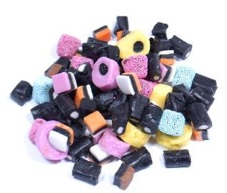 Gerrit J Verburg Mini  Licorice Allsorts