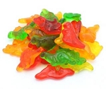 Land Of The Gummies Gummy Dinosaur Assorted Colors