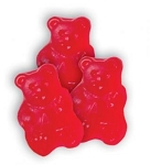 Albanese Wild Cherry Red Gummie Bears