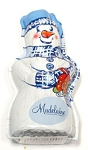 Madelaine Pure Milk Chocolate Foil Wrapped Snowman