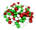 Georgia Nut Holiday Red Green White Milk Chocolate Gems