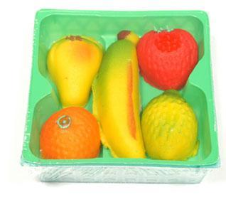 Bergen Marzipan Fruit Basket Tray