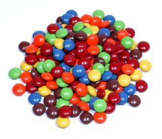 Georgia Nut Mini Milk Choc Gems Asst. Colors Small Pack