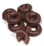 Joyva Dark Chocolate Covered Raspberry Jell Ring Large Pack
