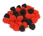 Haribo Red And Black Gummi Raspberries Small Pack