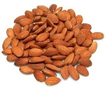 Whole Shelled Nonpareil Supreme Raw Skin Almonds Large Pack