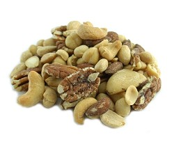 Weaver Nut Salted Deluxe Nut Mix with Peanuts