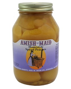 Amish Maid Spiced Peach Halves 32 oz Jars
