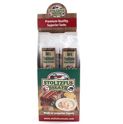 Stoltzfus Meats Ike's Traditional Beef Stick Twin Pack Caddy