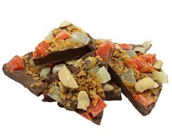 Weaver Chocolates Milk Chocolate Tropical Nut Bark