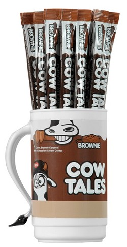 Goetzes Chocolate Brownie Cow Tales w/Tumbler