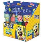 Pez SpongeBob Asst  Counter Display 12 count
