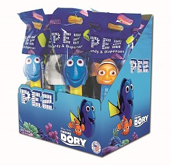 Pez Disney Finding Dory Assortment Counter12 CT