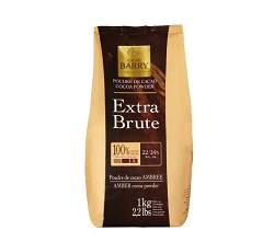 Cacao Barry EXTRA BRUTE Intense Red Cocoa Powder (22-24%) DCP-22SP-760