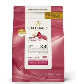 Callebaut RB1 Ruby Couverture CHR-R36RB12-US-U75