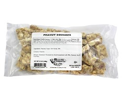 Peanut Squares 12 oz Laydown Bag