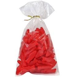 Red JuJu Fish 12 oz Twist Bags