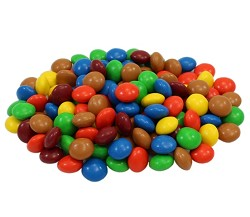 Sconza Candy Coated Milk Chocolate Assorted Buttons