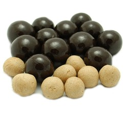 Weaver Chocolates Dark Chocolate Covered Triple Dipped Malt Ball