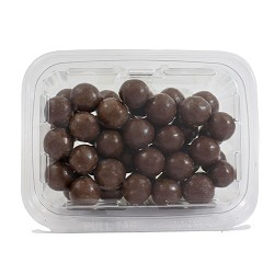Weaver Chocolates Milk Chocolate Malt Balls 15 oz Tubs