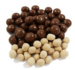 Weaver Chocolates Premium Indulgence Milk Chocolate Covered Malt Balls