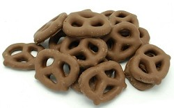 Weaver Chocolates Honey Graham Milk Chocolatey Pretzel