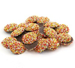 Weaver Chocolates Semi Sweet Chocolate Autumn Nonpareils