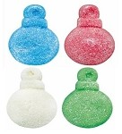 Vidal Gummi Glitter Coating Holiday Ornaments