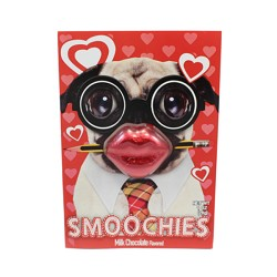 RM Palmer Smoochies Cards Milk Choc Flavored 1 oz PDQ
