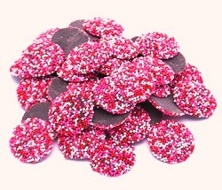 Weaver Chocolates Valentine Pure Milk Chocolate Nonpareil