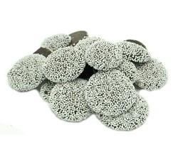 Weaver Chocolates Semi Sweet Chocolate White Nonpareils