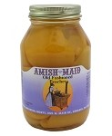 Amish Maid Peach Halves 32 oz Jars