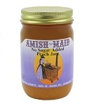 Amish Maid No Sugar Added Peach Jam 12 oz