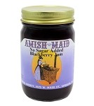 Amish Maid No Sugar Added Blackberry Jam 10 oz