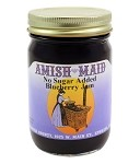 Amish Maid No Sugar Added Blueberry Jam 12 oz