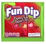 Nestle Willy Wonka Fun Dip Lik-m-aid (Cherry/Apple Yum Diddly Dip) .43 oz