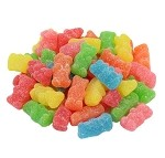 Land Of The Gummies Sour Neon Gummy Bear
