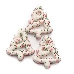 Sconza Sprinkled Christmas Tree Pretzels