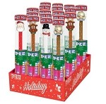 Pez Christmas Cane Counter Display 12 CT