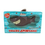 RM Palmer Jawsome Shark Milk Chocolate with Rice Solid 5 oz
