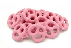Weaver Chocolates Cherry Yogurt Covered Mini Pretzels