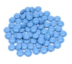Georgia Nut Powder Blue Milk Chocolate Gems