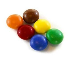 Georgia Nut Mini Milk Choc Gems Asst. Colors
